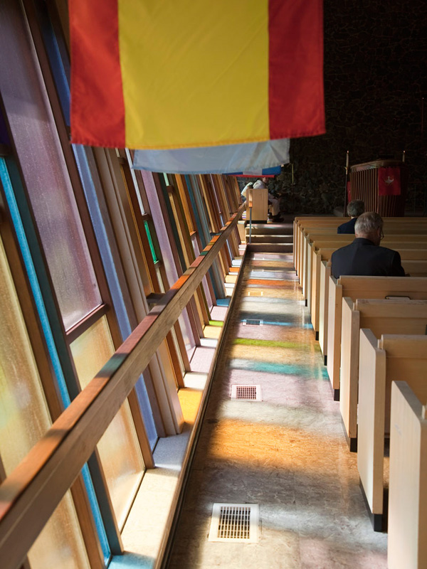 Flags at Pentecost
